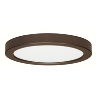 Blink LED 12 inch Bronze Flush Mount Ceiling Light, Satco,Round