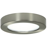Blink LED 8 inch Brushed Nickel Flush Mount Ceiling Light, Satco,Round