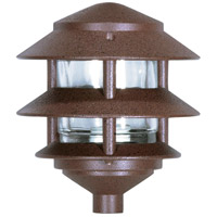 Nuvo SF76/632 Louver 75 watt Old Bronze Pathway Light