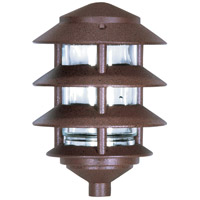 Nuvo SF76/633 Louver 100 watt Old Bronze Pathway Light