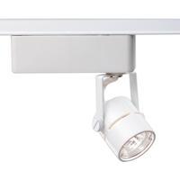 Nuvo lighting track lighting nuvo th234 signature 1 light white track lighting ceiling light round aloadofball Gallery