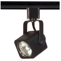 Nuvo TH313 Signature 1 Light Black Track Lighting Ceiling Light, Square