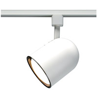 Signature 1 Light White Track Head Ceiling Light
