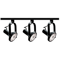 Nuvo Lighting Signature 3 Light Track Lighting in Black TK317