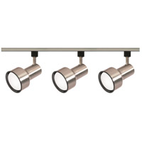 Nuvo Lighting Signature 3 Light Track Lighting in Brushed Nickel TK340