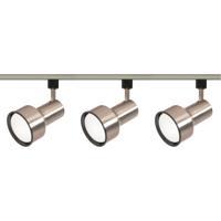 Nuvo TK340 Signature 3 Light Brushed Nickel Track Lighting Ceiling Light