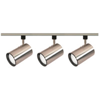 Nuvo Lighting Signature 3 Light Track Lighting in Brushed Nickel TK341