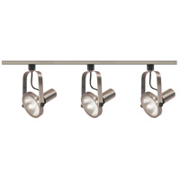 Nuvo Lighting Signature 3 Light Track Lighting in Brushed Nickel TK343