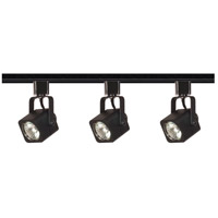 Nuvo Lighting Signature 3 Light Track Lighting in Black TK346
