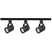 Nuvo Lighting Signature 3 Light Track Lighting in Black TK349