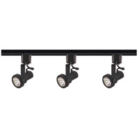 Nuvo Lighting Signature 3 Light Track Lighting in Black TK352