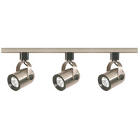 Signature 3 Light Brushed Nickel Track Lighting Ceiling Light
