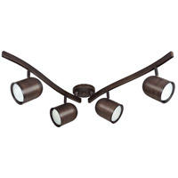 Nuvo Lighting Signature 4 Light Track Kit in Russet Bronze TK381