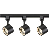 Nuvo TK404 Signature 3 Light 120V Black Track Kit Ceiling Light
