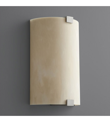 Oxygen Lighting 2-5153-424 Siren 1 Light 8 inch Satin Nickel Wall Sconce Wall Light photo
