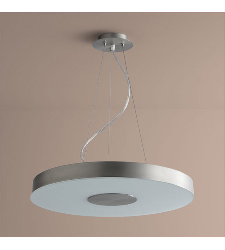 Oxygen Lighting 2-6161-124 Dione 1 Light 21 inch Satin Nickel Pendant Ceiling Light photo
