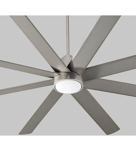 70 ceiling fan oversized oxygen lighting 310024 cosmo 70 inch satin nickel with silver blades ceiling