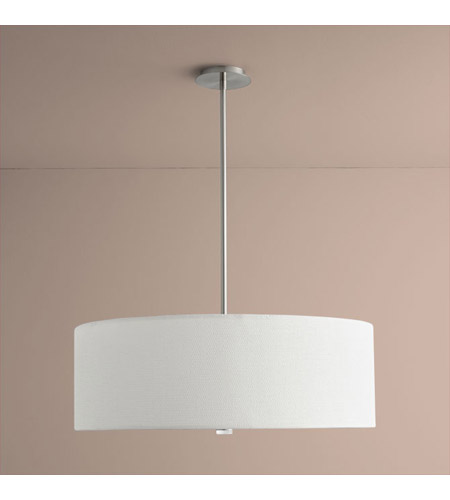 Oxygen Lighting 3 640 24 Echo 4 Light 30 Inch Satin Nickel Pendant Ceiling