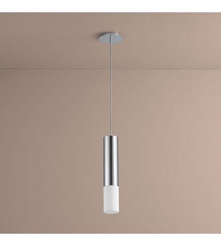 Oxygen Lighting 3 654 14 Opus 1 Light 4 Inch Polished Chrome Pendant Ceiling