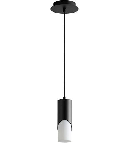 Black Steel Ellipse Pendants