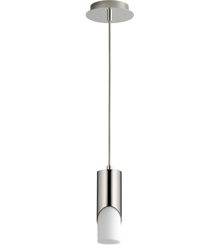 Oxygen Lighting Polished Nickel Ellipse Pendants
