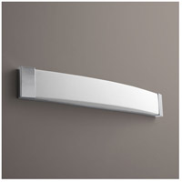 Oxygen Lighting 2-5105-14 Apollo 2 Light 37 inch Polished Chrome Bath Vanity Wall Light