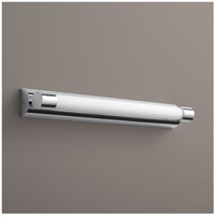Oxygen Lighting 2-5131-14 Skyline 1 Light 24 inch Polished Chrome Bath Vanity Wall Light