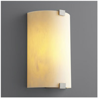 Oxygen Lighting 2-5153-424 Siren 1 Light 8 inch Satin Nickel Wall Sconce Wall Light alternative photo thumbnail