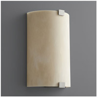 Oxygen Lighting 2-5153-424 Siren 1 Light 8 inch Satin Nickel Wall Sconce Wall Light photo thumbnail