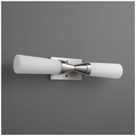 Oxygen Lighting 2-5159-124 Cornetta 2 Light 4 inch Satin Nickel Wall Sconce Wall Light
