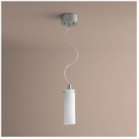 Lotus 1 Light 3 inch Satin Nickel Pendant Ceiling Light