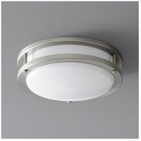 Oxygen Lighting 2-6109-24 Oracle 1 Light 11 inch Satin Nickel Flush Mount Ceiling Light