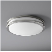 Oxygen Lighting 2-6110-24 Oracle 2 Light 18 inch Satin Nickel Flush Mount Ceiling Light