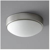 Oxygen Lighting 2-6134-24 Journey 2 Light 11 inch Satin Nickel Flush Mount Ceiling Light