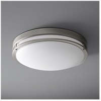 Oxygen Lighting 2-6143-24 Oracle 2 Light 24 inch Satin Nickel Flush Mount Ceiling Light