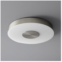 Dione 1 Light 15 inch Satin Nickel Flush Mount Ceiling Light