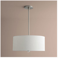 Echo 3 Light 23 inch Satin Nickel Pendant Ceiling Light