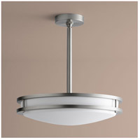 Oxygen Lighting 2-6210-24 Oracle 2 Light 18 inch Satin Nickel Pendant Ceiling Light photo thumbnail