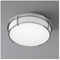 Oxygen Lighting 2-699-24 Io 2 Light 17 inch Satin Nickel Flush Mount Ceiling Light