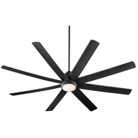 Oxygen Lighting 3-100-15 Cosmo 70 inch Noir Outdoor Ceiling Fan alternative photo thumbnail