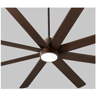 Cosmo 70 inch Oiled Bronze Ceiling Fan, Light Kit Sold Separately