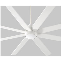 Cosmo 70 inch White Ceiling Fan, Light Kit Sold Separately