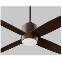 Oslo 52 inch Oiled Bronze Ceiling Fan, Light Kit Sold Separately