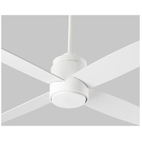 Oslo 52 inch White Ceiling Fan, Light Kit Sold Separately