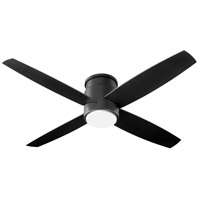 Oxygen Lighting 3-102-15 Oslo Hugger 52 inch Noir Outdoor Ceiling Fan