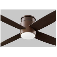 Oslo Hugger 52 inch Oiled Bronze Ceiling Fan, Light Kit Sold Separately