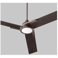 Coda 56 inch Oiled Bronze Ceiling Fan, Light Kit Sold Separately
