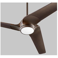 Sol 52 inch Oiled Bronze Ceiling Fan, Light Kit Sold Separately