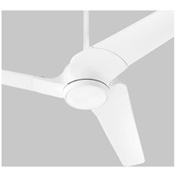 Sol 52 inch White Ceiling Fan, Light Kit Sold Separately
