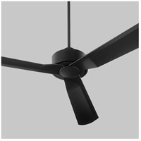 Oxygen Lighting 3-107-15 Solis 56 inch Noir Outdoor Ceiling Fan